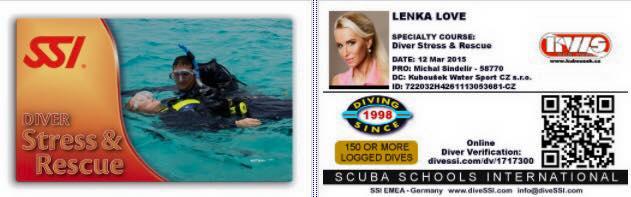 SSI Stress & Rescue certification