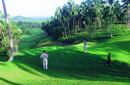 Thailand Samui Country Best Golf And Diving