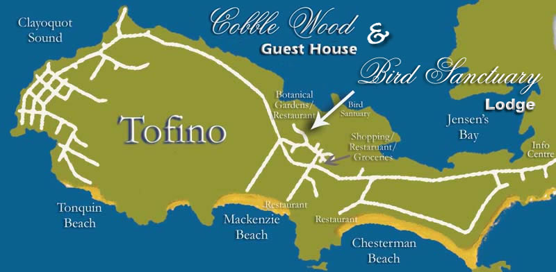 Tofino Canada Map.Canada Vancouver Island Golf Trail Best Golf And Diving