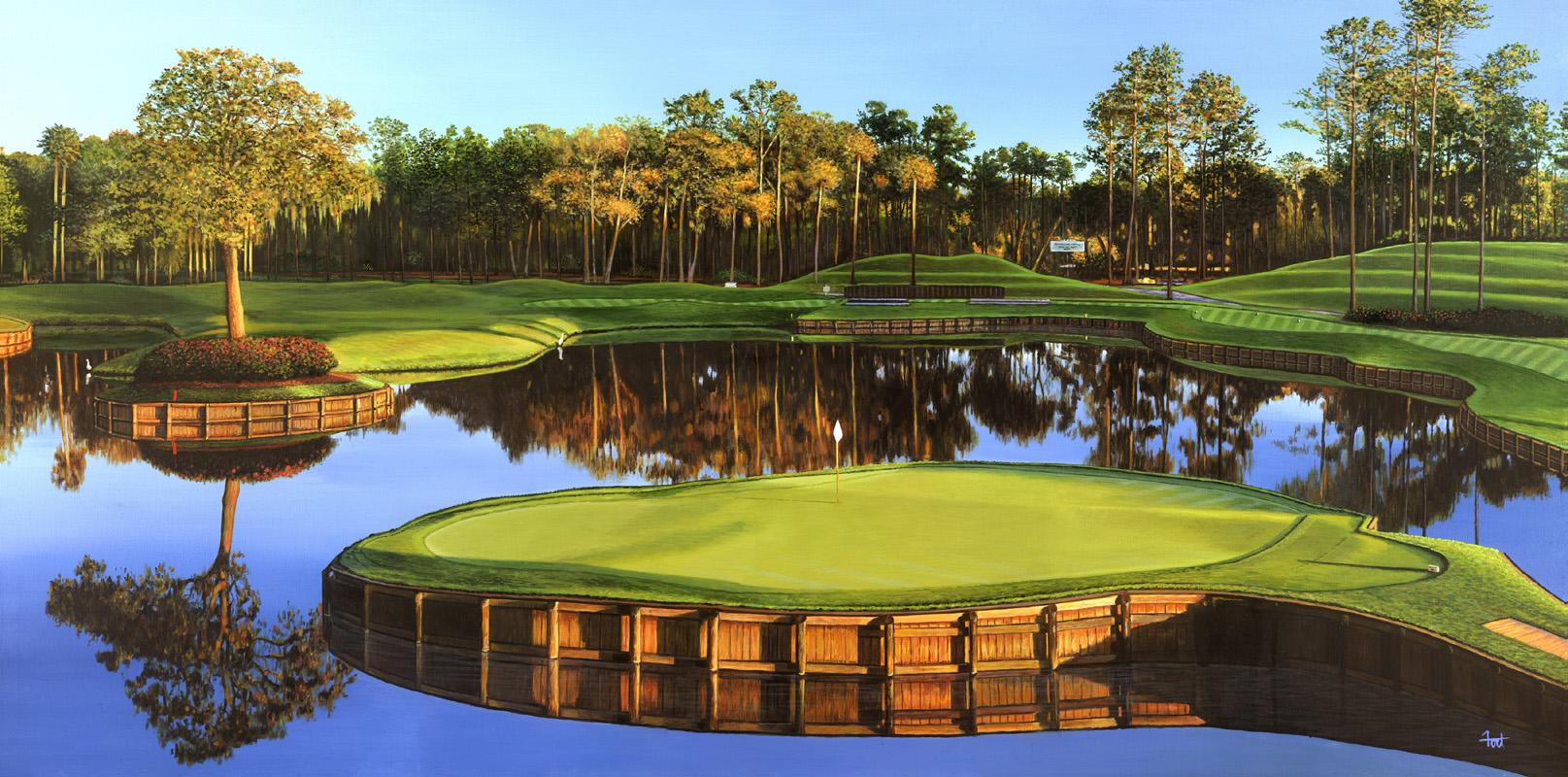 island green golf